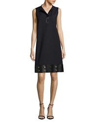 Lafayette 148 New York Capril Sleeveless Dress Black
