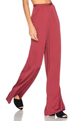 House Of Harlow X Revolve Des Pants Burgundy