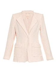 Rebecca Taylor Tweed Collarless Jacket