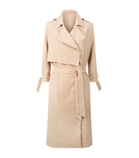 Allsaints All Saints Emil Lightweight Trench Coat Female Nude