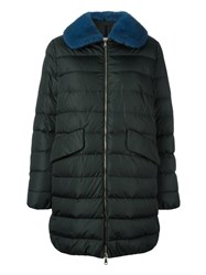 Moncler 'Indis' Padded Coat Green