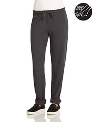 424 Fifth Drawstring Lounge Pants Charcoal Heather