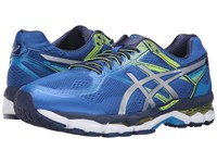 Asics Gel Surveyor 5 Imperial Silver Safety Yellow Men's Running Shoes Blue