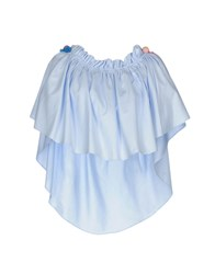 Forte Couture Blouses Sky Blue