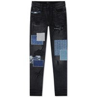 Amiri Japanese Repair Jean Black