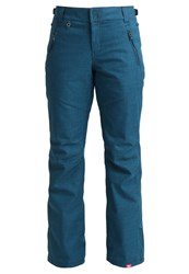Roxy Winterbreak Waterproof Trousers Legion Blue Turquoise