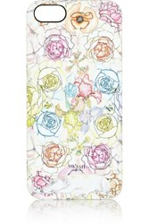 Swash Ring O Roses Confit Printed Plastic Iphone 5 Case White
