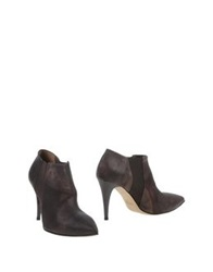 Stele Shoe Boots Dark Brown
