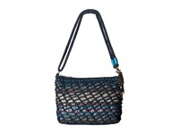 The Sak Classic Minis 3 In 1 Clutch Vintage Blue Tribal Cross Body Handbags