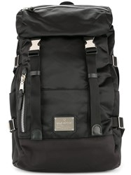 Makavelic Double Belt Backpack Black