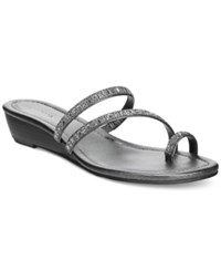Styleandco. Style And Co. Hayleigh Wedge Sandals Only At Macy's Women's Shoes Slate