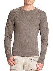 Ralph Lauren Black Label Ribbed Merino Sweater Grey