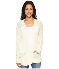 Roxy Move On Up Sweater Pristine Angora Women's Sweater White