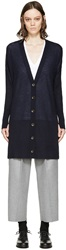Rag And Bone Navy Cashmere Whitney Cardigan