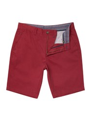 Linea Brompton Chino Shorts Red