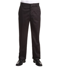 Dockers Signature Khaki D3 Classic Fit Flat Front Black Men's Casual Pants