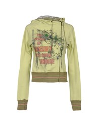 Annarita N. Sweatshirts Acid Green