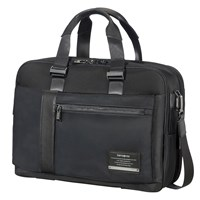 Samsonite Openroad Bailhandle Expandable 15.6Inch Laptop Briefcase Jet Black
