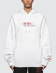 Heron Preston Nasa Manual Hoodie White
