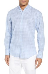Zachary Prell Jian Regular Fit Sport Shirt Sky