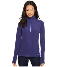 Marmot Rocklin 1 2 Zip Deep Dusk Clothing Purple