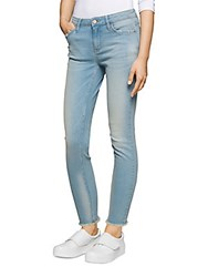 Calvin Klein Jeans Faded Mid Rise Blue