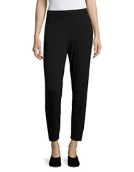 Eileen Fisher Petite Tapered Ankle Pants Black