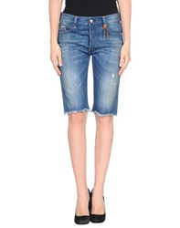 Htc Denim Denim Bermudas Women