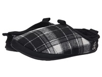 Bedroom Athletics Bale Black White Men's Slippers