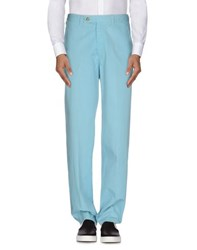 Zanella Trousers Casual Trousers Men Turquoise