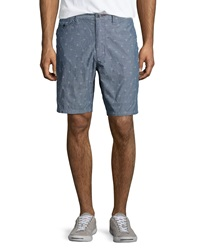 Howe Iron Sky Regular Fit Walking Shorts Commodore