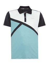 Bjorn Borg Ocker Short Sleeve Polo Navy