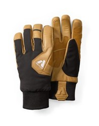 Eddie Bauer Two Tone Guide Gloves Natural