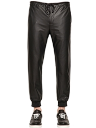 Perdre Haleine Faux Leather Pants Black