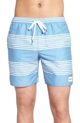 Men's Rhythm 'Cosmo Jam' Swim Trunks Blue