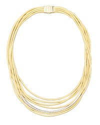 Marco Bicego Diamond Cairo 18K Seven Strand Necklace