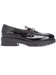 Rag And Bone Chain Detailing Loafers Black