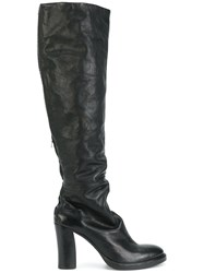Isaac Sellam Experience Helmi Boots Horse Leather Leather Black