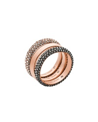 Pave Band Ring Set Michael Kors