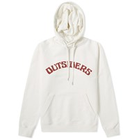 Wood Wood Fred Outsiders Popover Hoody White