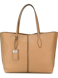 Tod's Large Tote Bag Brown