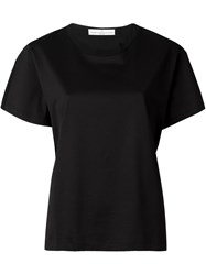 Golden Goose Deluxe Brand Round Neck T Shirt Black