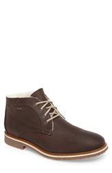 Lloyd Men's Varus Waterproof Shearlng Lined Chukka Boot Ebony Leather