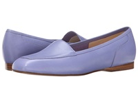 Enzo Angiolini Liberty Soft Peri Leather Leather Women's Flat Shoes Purple