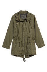 Levi'sr Plus Size Women's Levi's Roll Sleeve Anorak Army Green