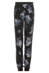 Tibi New York Floral Pleated Jogging Pant