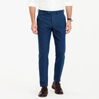 J.Crew Bowery Slim Pant In Hatched Cotton
