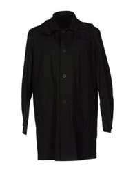 Mauro Grifoni Full Length Jackets Black