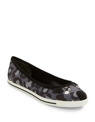 Marc By Marc Jacobs Mouse Camo Flats Grey