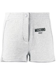 Moschino Casual Logo Shorts Grey